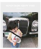 女童上衣柒號童倉男童t恤新款女寶寶新款兒童短袖寶寶t恤韓版卡通上衣 歐歐