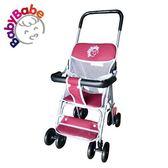 【BabyBabe】輕便型手推車 / 紅 B503_R