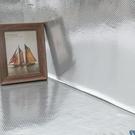 自粘加厚防水廚房防油貼紙耐高溫灶台用櫥櫃PVC牆貼防潮鋁箔貼紙  ATF  聖誕鉅惠