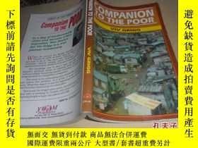 二手書博民逛書店companion罕見to the poor(英文原版)2747