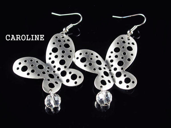 《Caroline》★奧地利施華洛世奇水晶時尚耳環10312