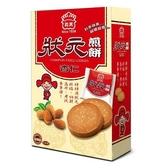 義美杏仁狀元煎餅224G【愛買】