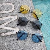 @港仔文藝男 春季新款正韓男士情侶平光鏡復古街拍墨鏡太陽眼鏡潮 萬聖節禮物