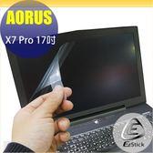 【Ezstick】技嘉 GIGABYTE AORUS X7 Pro 17吋 靜電式筆電LCD液晶螢幕貼(可選鏡面或霧面)