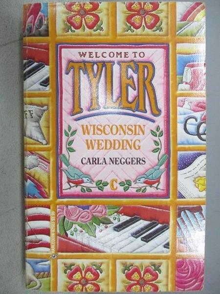 【書寶二手書T9/原文小說_CQK】Wisconsin Wedding_Carla Neggers