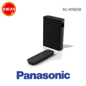 國際 PANASONIC SC-HTB250  soundbar 2.1聲道 藍牙家庭劇院組 微型劇院大震撼力