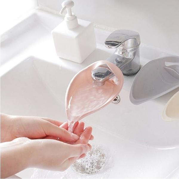 水龍頭加長洗手器 導水槽延伸器【A966】
