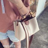 現貨出清 包包女新款韓版女包潮時尚百搭手提包單肩斜背包/側背包大包包潮 4-17YXS