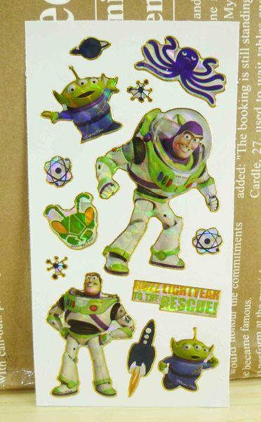 【震撼精品百貨】Metacolle 玩具總動員-貼紙-巴斯與三眼怪圖案