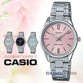 CASIO卡西歐 手錶專賣店 LTP-V005D-4B 簡約石英錶 礦物玻璃鏡面 不鏽鋼錶殼錶帶