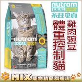 ◆MIX米克斯◆【買一送一】紐頓.I12體重控制貓 (雞肉+豌豆)【6.8KG】