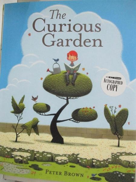 【書寶二手書T6/少年童書_J78】The Curious Garden_Brown, Peter