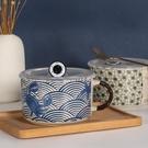 泡麵碗 日式風創意家用陶瓷泡面杯碗帶蓋便...