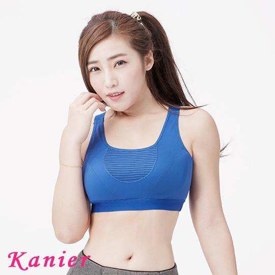 【Kanier卡妮兒】3M吸溼排汗舒適運動型內衣(藍/芋/黑_M-Q_2866)
