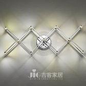 [吉客家居] 壁燈 工業風伸縮壁燈 金屬烤漆玻璃造型時尚後現代工業餐廳民宿咖啡館居家D