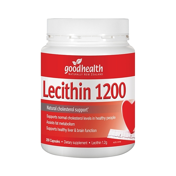 good health 固好力 活力卵磷脂膠囊 200粒【躍獅】