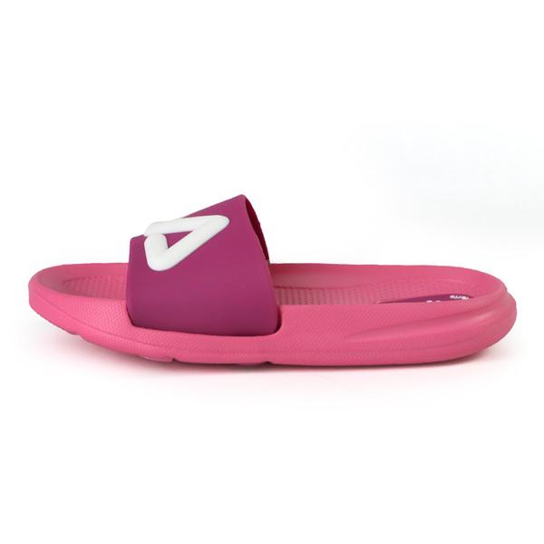 FILA KIDS MD 拖鞋 中童鞋 粉紫 NO.R5765