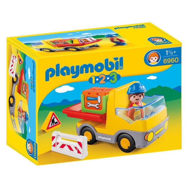playmobil 123series 建造貨車_PM06960