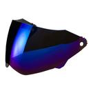 【東門城】SOL SS-1 專用電鍍鏡片(電鍍藍) 安全帽鏡片