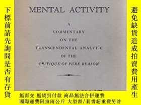二手書博民逛書店Kant s罕見Theory Of Mental ActivityY364682 Robert Paul Wo