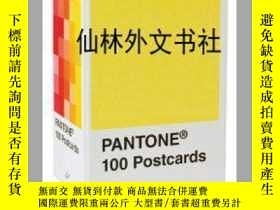 二手書博民逛書店【罕見】Pantone Postcard Box: 100 Po