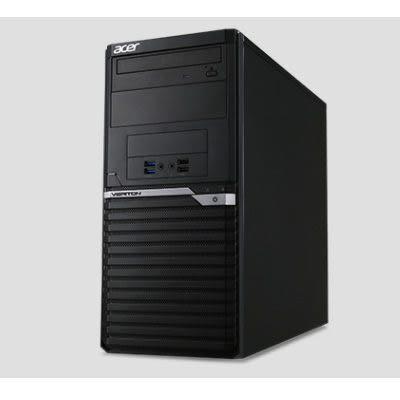 Acer Veriton M6660G 高效商用主機【Intel Core i7-8700 / 8GB記憶體 / 1TB+128GB SSD / NO OS】(Q370)