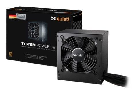 【Be quiet!】SYSTEM POWER U9 400W 80+銅牌 電源供應器【刷卡分期價】