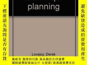 二手書博民逛書店Land罕見use and landscape planning