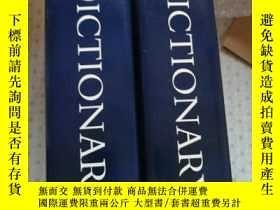 二手書博民逛書店Shorter罕見Oxford English Dictionary Fifth Edition 英語大辭典簡編本