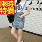 吊帶休閒褲-原創創意隨性復古明星同款女褲子1色59g50【巴黎精品】