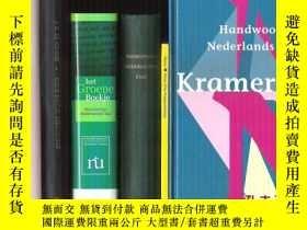 二手書博民逛書店原版荷蘭語-荷蘭語詞典罕見handwoordenboek ned
