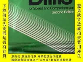 二手書博民逛書店Reading罕見Drills for Speed and Co