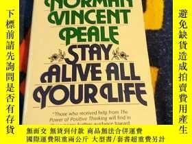 二手書博民逛書店英文原版:Stay罕見Alive All Your LifeY1