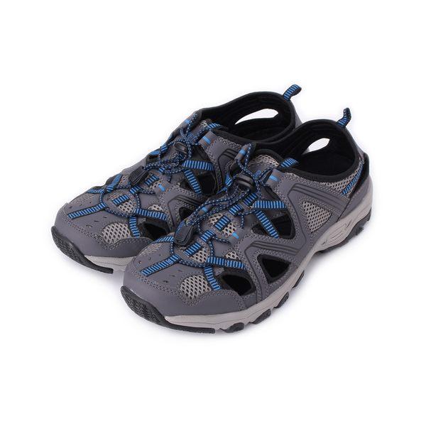 RED ANT 護趾束帶運動水陸鞋 藍 男鞋 鞋全家福