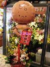 (YB-07)空飄氣球外送/祝賀喜獲麟兒/生產早日康復/嬰兒氣球+盆花-大台北縣市專人外送