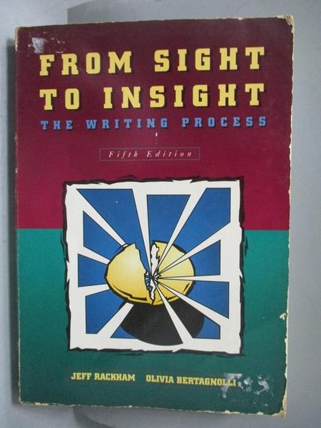 【書寶二手書T9/原文書_ZAD】From Sight to Insight_Jeff Rackham