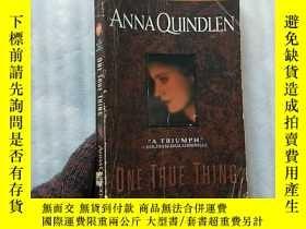 二手書博民逛書店ONE罕見TRUE THING ANNA QUINDLEN 32