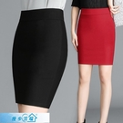 窄裙 2020新款韓版半身裙春秋短裙女夏高腰顯瘦彈力一步包臀裙打底裙子 漫步雲端