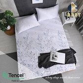 【BEST寢飾】天絲床包三件組 加大6x6.2尺 淺笑 床高35cm 100%頂級天絲 萊賽爾 附正天絲吊牌