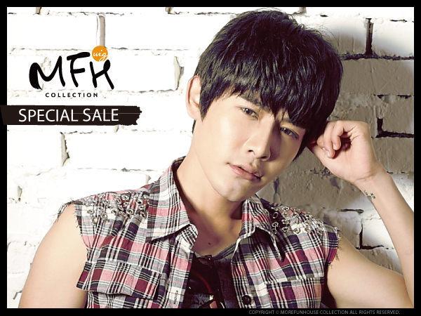 MFH韓國男生假髮◆李東旭輕熟魅力假髮【S061002】*韓國髮型 男假髮