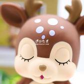 創意可愛兒童存錢罐小男孩女孩卡通防摔儲蓄罐成人紙幣韓國儲錢罐  伊莎公主
