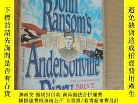 二手書博民逛書店John罕見Ransom s Andersonville Dia