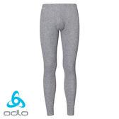 瑞士 ODLO Warm 排汗保暖型內搭褲 男款 麻灰 #152042