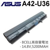 ASUS 8芯 日系電芯 A42-U36 電池 U32 U32J U32JC U32U U32VM