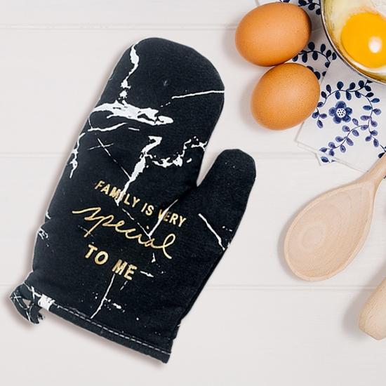 隔熱手套 北歐風 大理石紋 耐高溫  烘焙手套  防滑 大理石紋隔熱手套✭米菈生活館✭【S39-1】