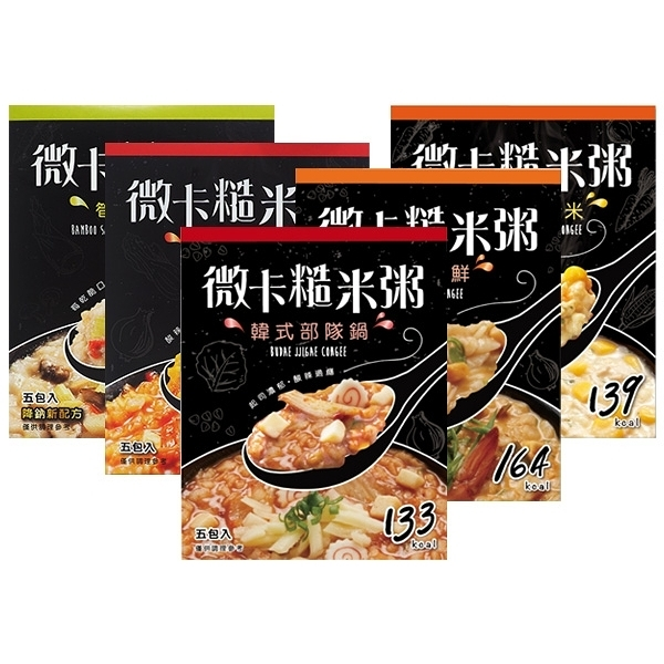 iFit 推薦 微卡糙米粥(36gx5份入) 款式可選【小三美日】