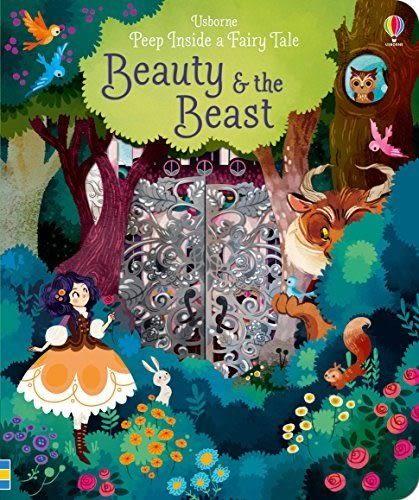 Peep Inside A Fairy Tale Beauty and The Beast 美女與野獸 瞧瞧看翻翻操作書