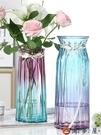 實惠【特大號兩件套】玻璃花瓶透明客廳插花擺件【淘夢屋】