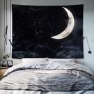 背景布ins掛布墻布背景墻墻壁掛畫布藝主播床頭房間佈置裝飾畫潮微愛