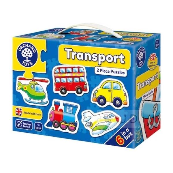 【英國 Orchard Toys】第一組拼圖 - 運輸車車 OT-203